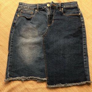 Vintage America Jean Skirt size 6